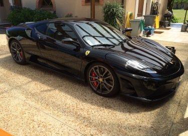 Traceur GPS sur Ferrari 430